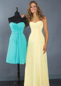 View our collection of bridesmaid dresses, available in hundreds of color combinations, in sizes 0-36W!