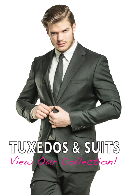 Wedding Tuxedo Rentals, Prom Tuxes and Suit Rentals for Vermont and New Hampshire • Christine's Bridal