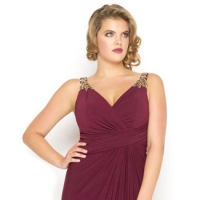 Prom 541 - Plus Sizes Only!