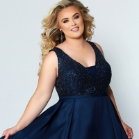 Prom 569 - Plus Sizes Only!