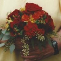 Rustic Roses Bridal Bouquet