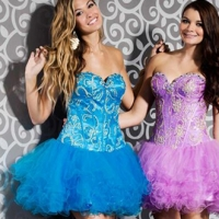 Short Prom Dress 2 • Christine's Bridal & Prom