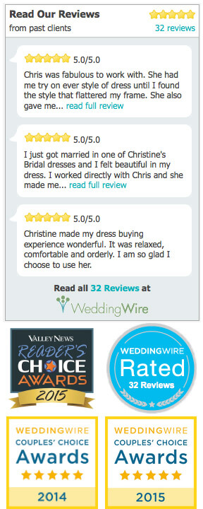 Christine's Bridal Reviews & Awards