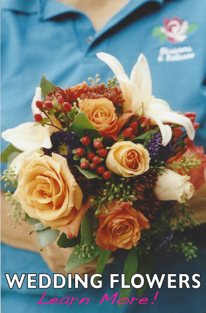 Wedding Flowers and Bridal Bouquets for the discerning bride! Christine's Bridal is home to Blossoms & Balloons, your full service wedding florists! Wedding flower packages available in Vermont and New Hampshire>