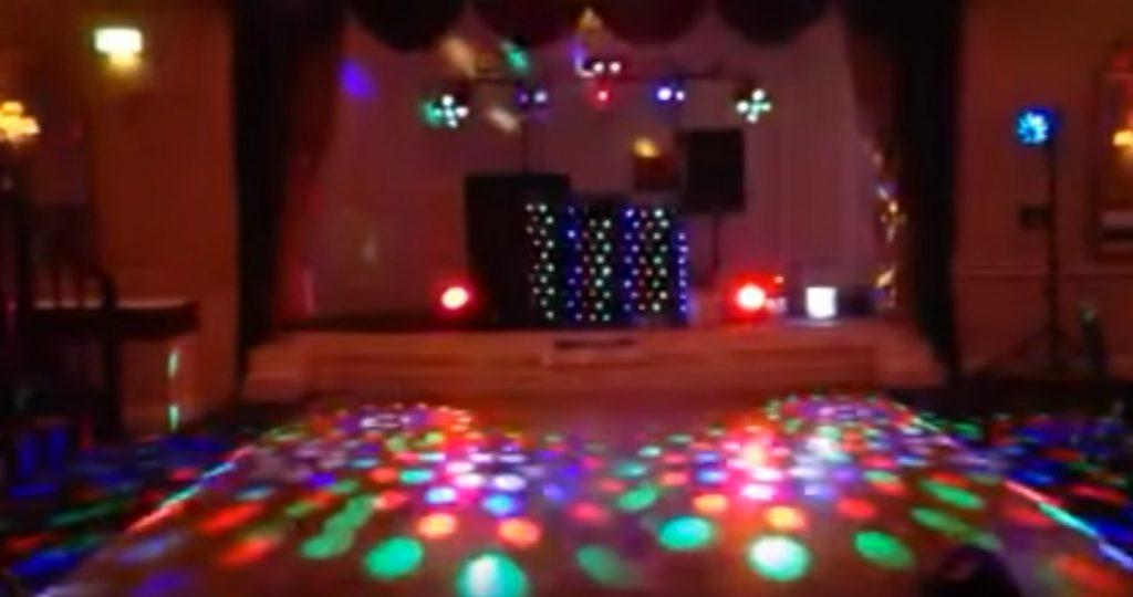 2019-prom-themes-disco-lighting
